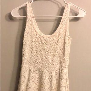 Aeropostale Women's White Dress